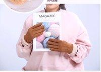 Winter Nouvelles Gants de dame de dame chaud Étudiants chauds Belle version coréenne écran tactile et peluche épaississement d'une génération