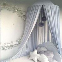 50 * 240 cm Chiffon Baby Moskito Net Kids Princess Bett Canopy Bettdeckel Anti-Moskito Insekt Vorhang Bettwäsche Dome Deckenzelt