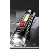 المحمولة مصباح يدوي قابلة للتعديل usb مشرق ضوء مريحة للماء امرأة رجل الكهربائية الشعلة المشي في الهواء الطلق 8FX K2