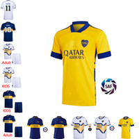 fans version 20 21 Boca Juniors maillots de foot soccer jers...