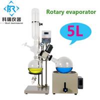RE501 evaporador rotativo 5 litros / evaporador rotativo 5l / vidro destilação kit para destilador óleo essencial