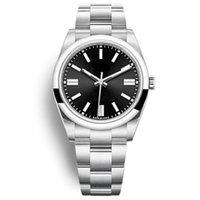 Черные часы Автоматические механические повседневные мужские часы 41 мм красные розовые женские платья для вечеринки часы браслет женщины Orologio di lusso