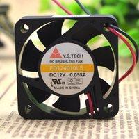 Для нового Y.S TECH FD124010LS DC 12V 0.055A 2-проводной 40x40x10mm вентилятор охлаждения сервера