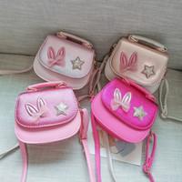 Fille monnaie sac à main sacs à main enfants portefeuille petit sac mignon de la lapin oreille bow kid sac argent sac de bandoulière change mouline wq621