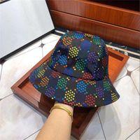 Lujo- 2021 temporadas para hombre para mujer gorra del sombrero de pescador de moda sombreros de ala con estampado con patrón de impresión transpirable casual, casual, sombreros