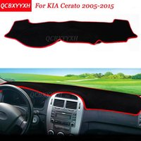 Car Styling Dashboard Avoid Light Pad Polyester For KIA Cerato 2005-2015 Instrument Platform Desk Cover Protective Mats1
