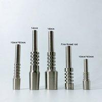 티타늄 네일 10mm14mm18mm 티타늄 손톱 남성 여성 실용 나사 파이프 액세서리 VT1977