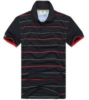 Neue Frühling Luxus Italien Männer T-Shirts Designer Polo Hemden High Street Stickerei Streifen Krokodil Druck Kleidung Herren Marke Poloshirt