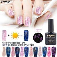 Yayoge Gel Nail Polish For Nail Manicure Glitter Luminous Color UV vernis Semi Permanent Primer Varnishes Gel polish art