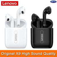 Brand New Genuine X9 Lenovo TWS наушники Bluetooth 5,0 Noice Устойчив Earbuds Long Endurance Высокое качество звука Stereo Surround Водонепроницаемый