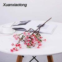 장식 꽃 화환 Xuanxiaotong 100cm 긴 사과 꽃 꽃 지점 가정에 대 한 인공 식물 지점 가정 결혼식 decoratio