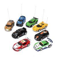 Sport R / C Racer Coke Can Can Car Mini Radio Remote Control Автомобиль RC Micro Racing Toys Маленький PORKET 2 Частоты Подарки для детей 201223