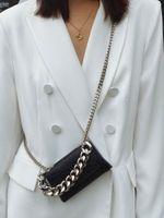 HBP مصغرة محفظة حقيبة محفظة crossbody تمساح نمط مصممين أزياء شخصية أنثى النساء حقائب جلدية عالية الجودة حقائب اليد