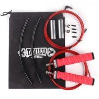 Crossfit pulando velocidade salto corda ponderado cordas cordas rolamentos de esferas para boxe treinamento bodybuilding ginásio de fitness eequipment1