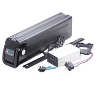 500W Ebike prata peixe bateria 48V 13AH 15AH 17AH 750W baterias elétricas de bicicleta com 54.6V carregador