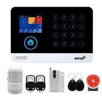 GSM + WiFi Sistema di allarme wireless Allarme antifurto Allarme Home Anti-furto Sicurezza UE Plug1