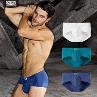 52025 hombres calzoncillos para ropa interior 3-pack Premium MicroModal Briefs transpirables suaves Cómodos boxershorts Hombres ropa interior Sexy Boxers 20112