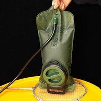 Nova hidratação 2L Sacos de água TPU Boca Esportes Bexiga Camping Caminhada Escalada Militar sacos de água DHL Fast Shipping
