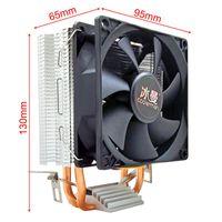 ثلج وحدة المعالجة المركزية برودة 2 أنابيب الحرارة 4 دبوس PWM ضربات 90mm إنتل LGA 775 1150 1151 1155 1366 وحدة المعالجة المركزية مروحة تبريد AM2 AM3 AMD هادئة PC المشتت الحراري