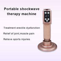 2020 Shockwave 물리 치료 장치 ED 전자기 체외 충격파 치료 기계 통증 구호 바디 릴리프 마사지