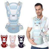 Transportadoras, lingas mochilas ergonômicas baby wrap portadores infantil crianças respirável hipseat sling assento portador carregando cinto para viagem