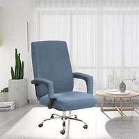 Waschbarer Stuhl Back Cover Set Multi Color Home Cleaning Elastic Case Office Computers Chair Handlaufabdeckungen Neue Ankunft 22SP G2