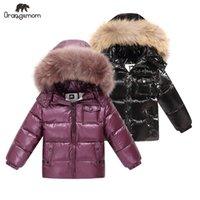 Marka Orangemom 2020 Kış Çocuk Giyim Ceketler Coat, Çocuk Giyim Giyim Mont, Beyaz Ördek Aşağı Kız Erkek Ceket LJ201128