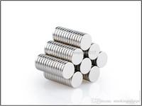 Множественные размеры Сверхпрочная диска Круглый редкоземельные неодимовые магниты N35 Craft Модель Покрытие никелем ADD LOGO