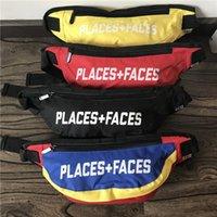 Rétro Places Faces taille Packs Crossbodybag 3m Sac Messenger réfléchissant P F hommes femme sac de poitrine Hip-hop décontracté