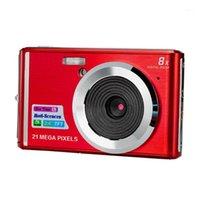 Caméras numériques C4 Cadeau Ultra mince Coms Capteur Anniversaire LCD Afficher la détection de visage anti-Shake Zoom Mini Portable Clair Clear Travel Caméra1