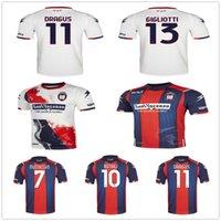 20 21 Fc Crotone Pitagorici Soccer Jersey Benali Djidji Dragus Luperto Petriccione Eduardo Custom 2020 человек для взрослых футбол