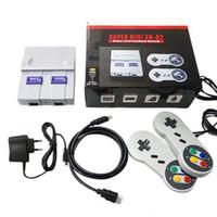 HDTV 1080p OUT TV 821 Oyun Konsolu Video El Oyunları SFC NES Oyunları Konsollar için Sıcak Satış Çocuk Aile Oyun Makinesi DHL Nakliye