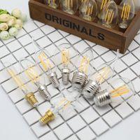 4W Retro Bombilla C35 LED Socket Vintage DIY Cuerda Colgante Fiesta Incandescente Filamento Lámpara Lampada