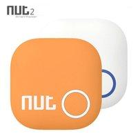 Somun 2 Mini Anahtar Tag Bulucu Anti Kayıp Hatırlatma Akıllı Telefon Için Akıllı Izci Kablosuz Tracker1