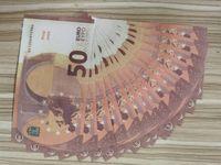 Euro Dolar Bill Çocuk Oyuncak Bilet Film Sahte Para Prank Prop Euro Dolar Bill Çocuk Oyuncak Bilet Film Para 10/50