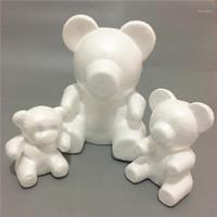 35 ملليمتر النمذجة الدب رغوة البوليسترين الستايروفوم الأبيض الدب رغوة الهدايا القلب الكرة الحلي الحرف زهرة عيد الميلاد حزب الهدايا 1