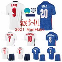 Talla S-4XL Men + Kids 2020 Angleterre Jerseys de fútbol Tercer Concepto Negro Inicio Dele Dele Rashford Sancho Sterling Kane 2021 Jersey de fútbol2011