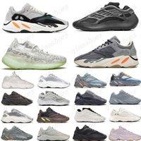 Sıcak 2020 Atalet 700 Erkek Kadın Koşu Ayakkabıları Sneakers Yeni Hastane Mavi 700 V2 Mıknatıs Tephra En Iyi Kalite Kanye Batı Spor Ayakkabı