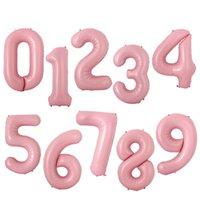 Nombre Ballons 40 pouces hélium Ballon Air Ballons Aluminium Foil Numéro Joyeux anniversaire soirée de mariage Ballon Décorations EEC1193