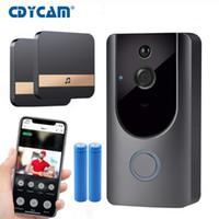 HD Smart Doorbell Caméra WiFi Call Wireless Sans Wireless Video-Eye pour les appartements Porte Bell anneau pour téléphones Home Security Cameras