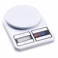10kg / 1g Digital Cozinha Dieta Comida Escala Postal Peso Eletrônico Balanço Peso Métrica Libras Libras Gramas Onças KG 413 J2