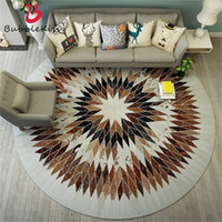 3D Round Carpet Modern Rug for Bedroom Carpets Living Creati...