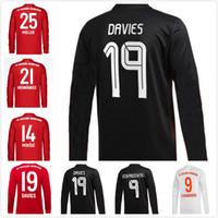 20 21 축구 저지 Lewandowski Sane Gnabry Muller Thiago Hernández Martinez 팬 버전 홈 멀리 긴 소매 축구 셔츠