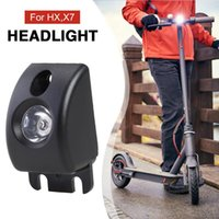 Elektroroller Fahrradscheinwerfer Frontlampe Beleuchtung Elektrische Fahrradlicht für HX X7 Zubehör