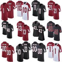 Mens Womens Youth Personalizzato Deandre Hopkins Kyler Murray Patrick Peterson Haason Reddick Larry Fitzgerald Isaia Simmons Budda Baker Maglie