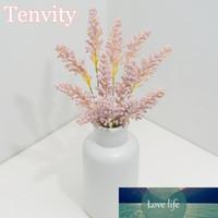 Espuma de trigo orelha artificial flores mini baga buquê nupcial diy decoração arranjo de natal grão flor falsa flor