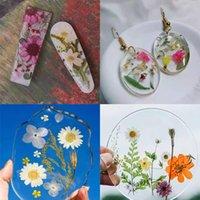 Pressé véritables fleurs pour bougie ongles art décalques petites fleurs séchées scrapbooking sèche fleur décoration maison résine moule jllvax