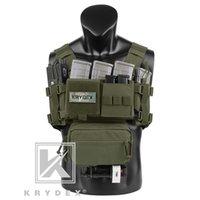 Krydex MK3 Tactical Tactical Modular Tactical ToChassis Spiritus Airsoft Hunting Military Carrier tactique Vest W / 5.56 223 Pochette de magazine 201215