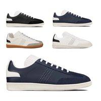 2021 com caixa hommes designer sneaker b01 plataforma de tênis de couro plataforma preta Calfskin casual sapato de sapato de moda homens sapatos chaussette poeira # 585