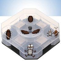 Mutfak DBC KKA1571 için Ev Etkili Hamamböceği Tuzaklar Kutusu Yeniden kullanılabilir Hamamböceği Bug Roach Catcher Hamamböceği Killer Yem Tuzaklar Pestisit